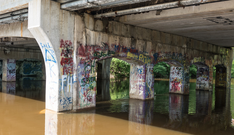 Farm Lane Bridge Graffiti