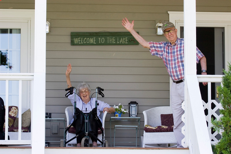 Who cares if it's not their place, they are welcoming you in anyway!