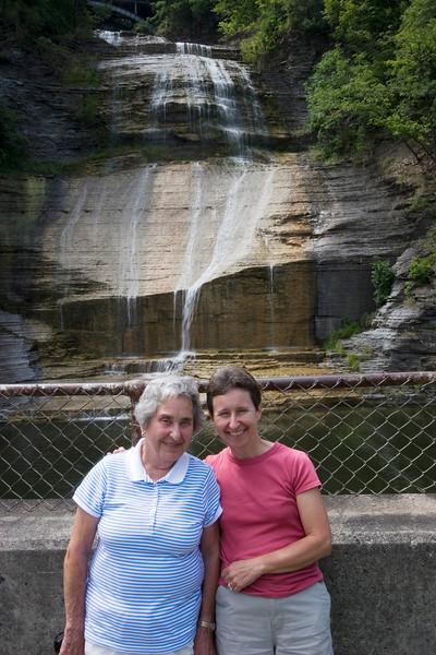 Myra and Mom, Montour Falls, NY