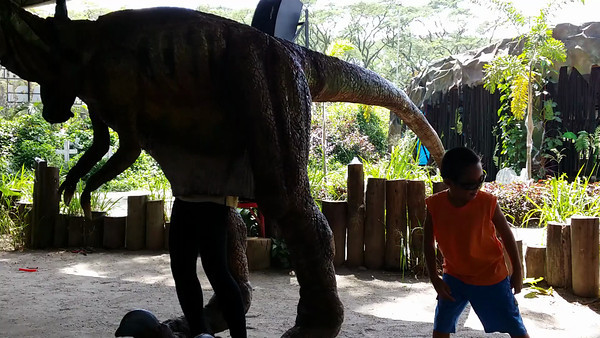 Dinosaurs Island at Clark, Pampanga