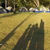 Temprano en el campamento