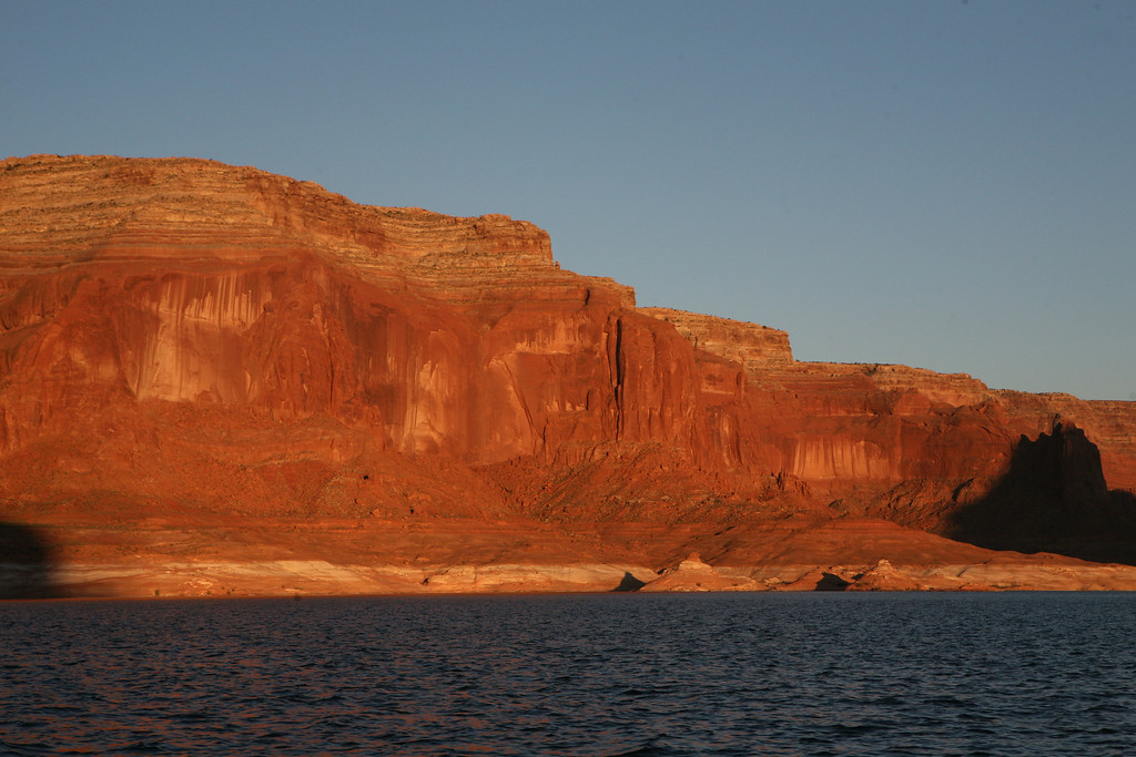 Lake Powell main channel on the way to Dangling Rope