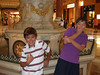 Austin and Ethan clowning around at Caesar's Palace, in front of the moving statues show.  The show was far less impressive than I had remembered it, BTW.