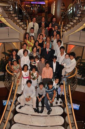 Liberty of the Seas SS 2009. Renovación de votos Papás.10abril2009