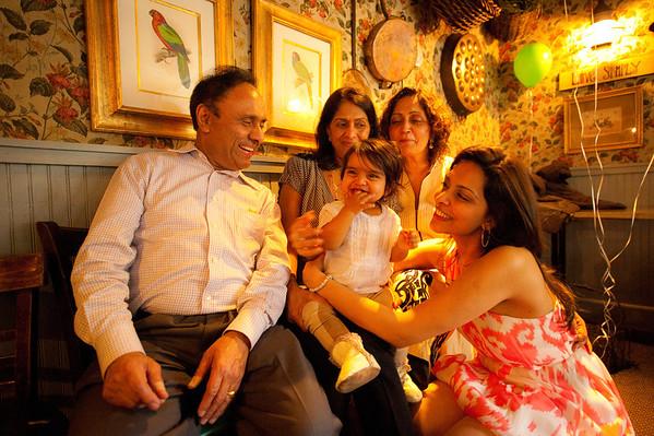 Trishna's First Birthday