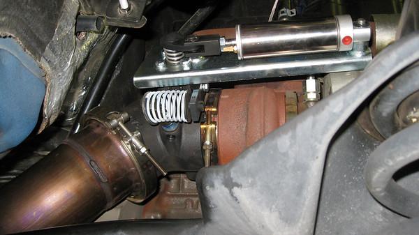 Exhaust brake (Pacbrake)