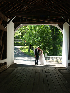 Trudy and Bryan at Knecht's Bridge
