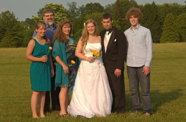 Our family with the soon-to-be-newlyweds!  (fx)