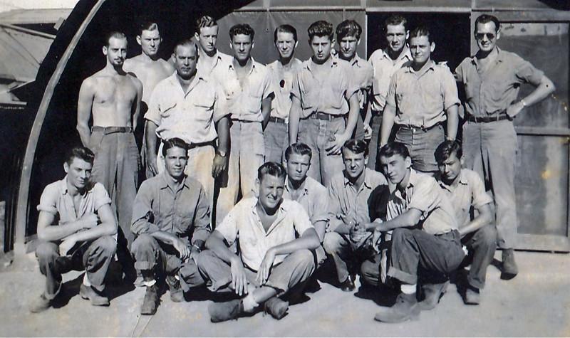 1945 (?) Dad's Navy crew