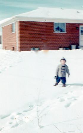 1956 John, new house on Audrey Ln