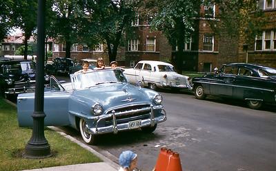 1956 Larry, Judi, Jim Maloney; Karlov Ave