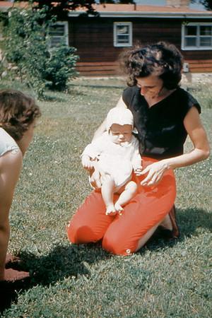 1955 Auntie El in Waucanda
