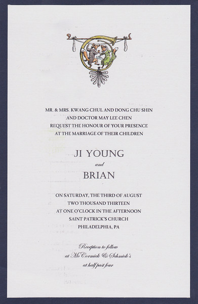 Brian and Ji Young Wedding Aug 3rd 2013  67320