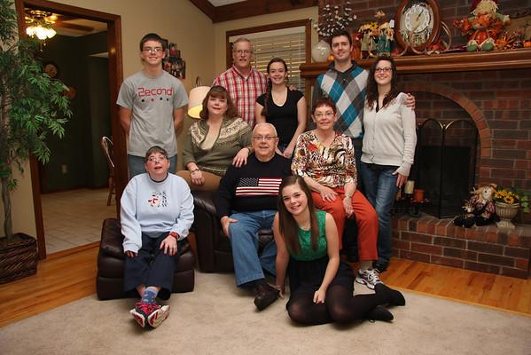 Tucker / Roeder Family Thanksgiving 2013