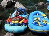 Two of the rafts