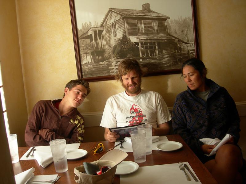 Dinner in Groveland at the Iron Door