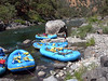 Rafts at a rest stop