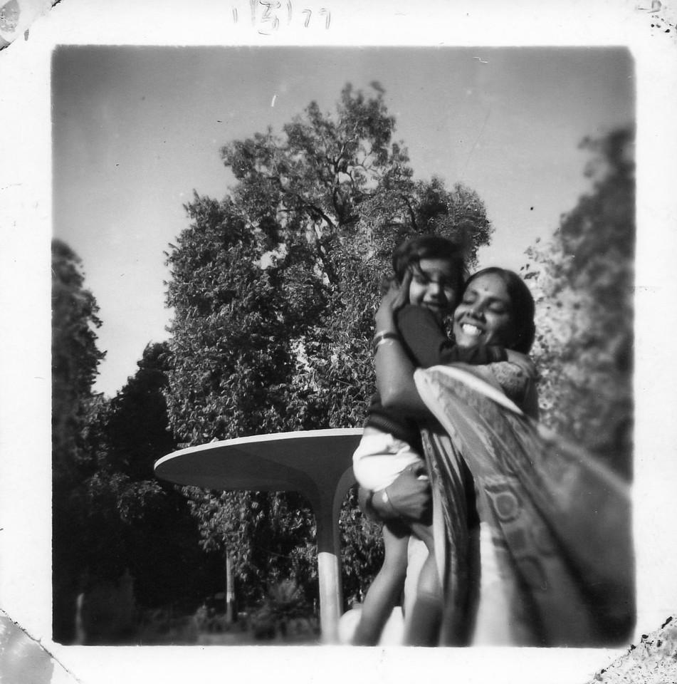 1/March/1979 @Vadodara - Mom and Me