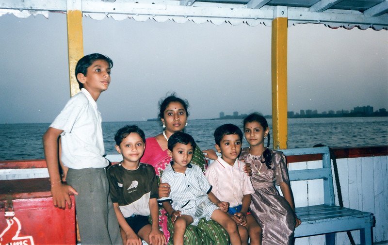Mumbai/Goa Trip in Year 1989 - With my favourite Masi
