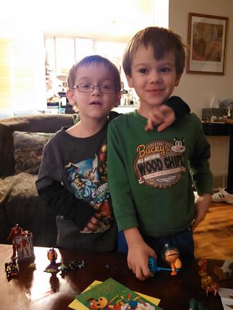 Twins' 5th Birthday