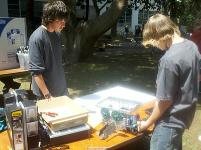 Tys robot comp at usc may 21 2011
