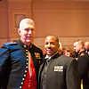 My husband and the Commandant of the United States Marine Corps, General James T. Conway.