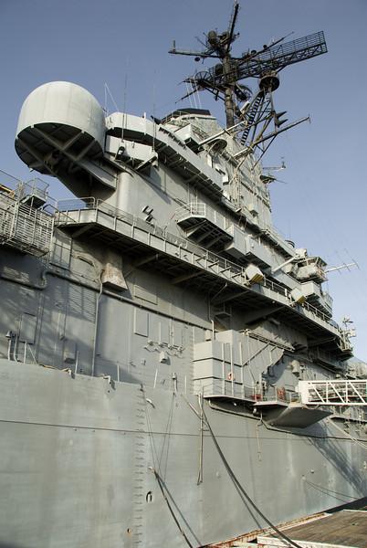 USS Hornet trip