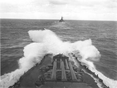 Bow of USS Idaho