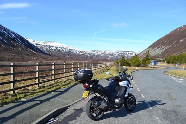 Ullapool March 2016 new motorbike