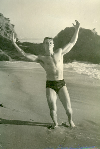 Elwood after soon moving to Laguna Beach, CA in 1950