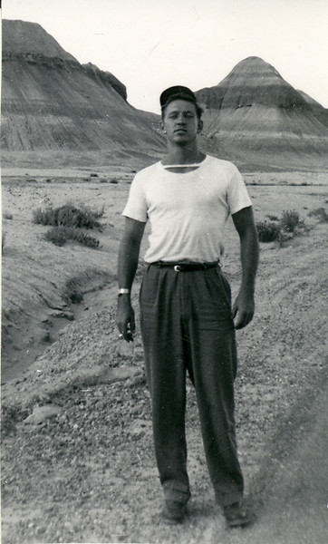 Elwood Carlisle in Arizona 1949