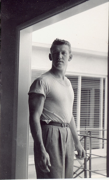 Elwood at Dawson College, Montreal Canada 1947