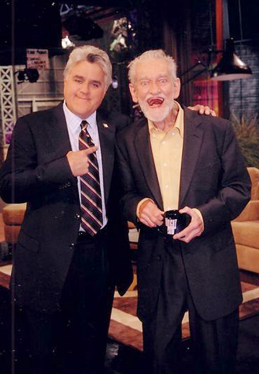 Jay Leno has the privilege of meeting a real superstar, Elwood Carlisle