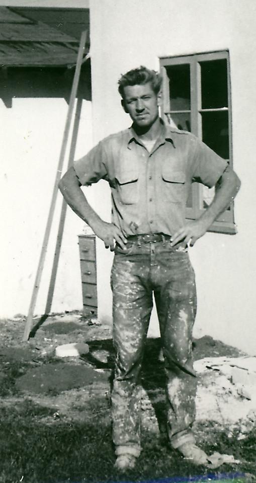 Elwood the ceramic caster, California 1953
