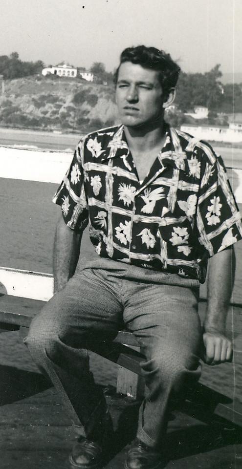 Elwood in San Clemente, CA in 1957