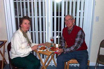 Christine (La Civita) and Gene Comeau