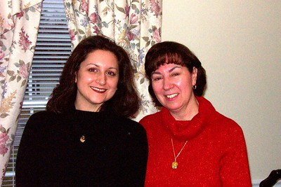 Kelly Costa and Lorraine (Costa) Theriault