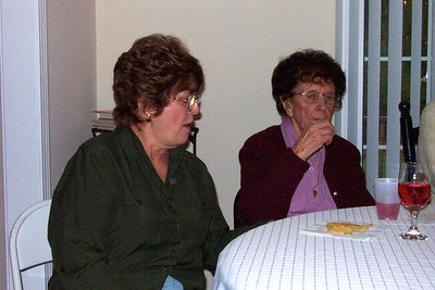 Leona (Hatch) Foley and Edith Hatch