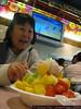 Hehe. Auntie Sandra looks excited. :)