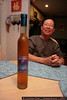 And now ... what we've all been waiting for ... the ICE WINE that was HOME BREWED by Uncle 3!!