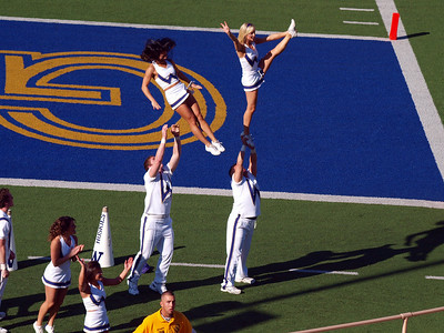 Unicycling & Cal Football in Berkeley