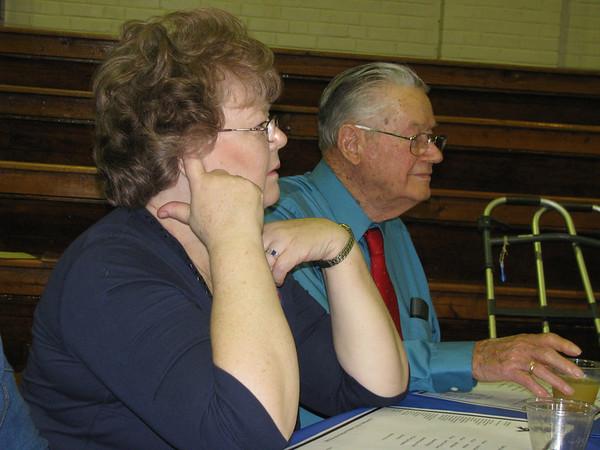 Elaine Bensheimer and Uncle Eugene (class of 19).