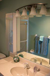 The Front Bathroom.