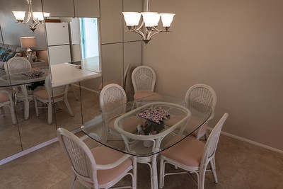 The Dining Area, with pass-through to the Kitchen.