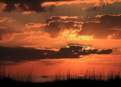Sunset on Siesta Beach