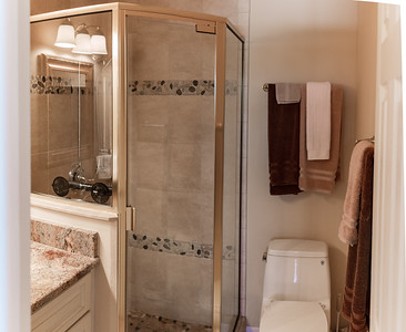 The Back Bathroom, off of the Back Bedroom.