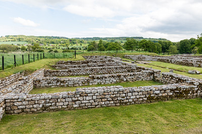Chester's Roman Fort Hadrian's Wall Hexam UK