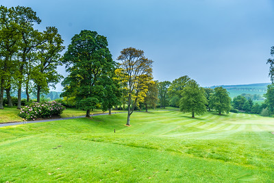 Murrayshell Golf Course near Perth Scotland