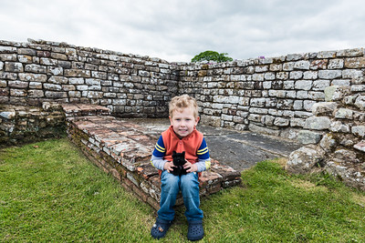 Landon Scotty at Chester's Roman Fort