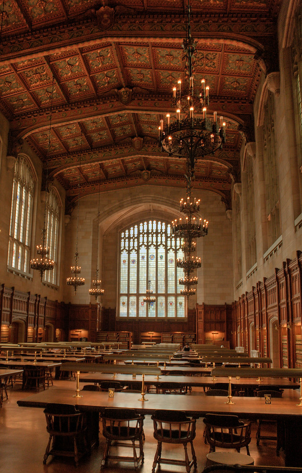 The Reading Room.   What a beautiful building.